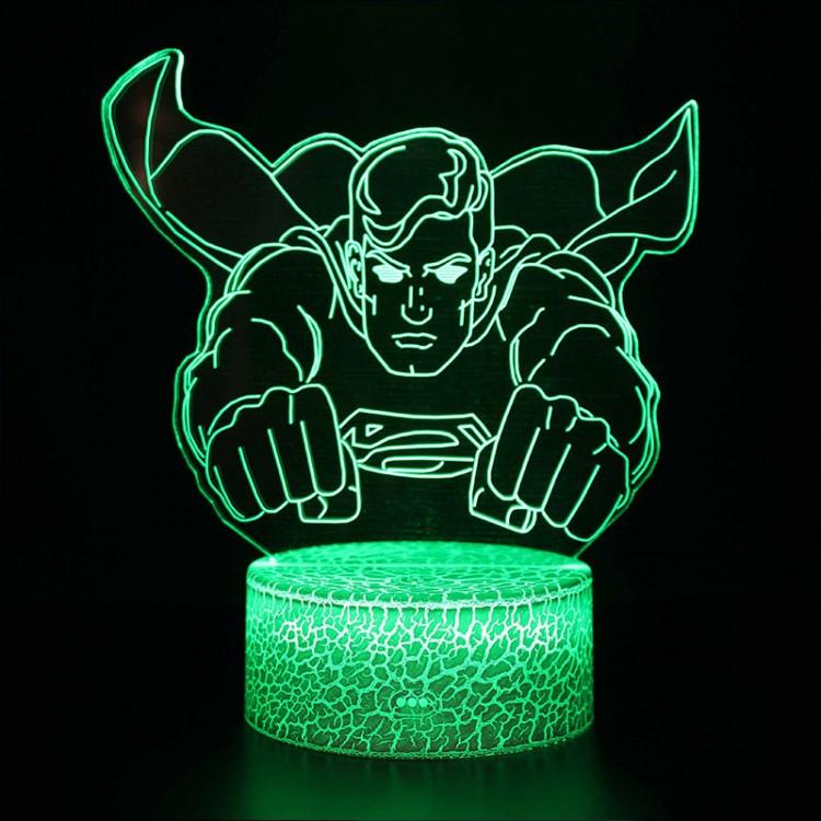 Lampe 3D Superman