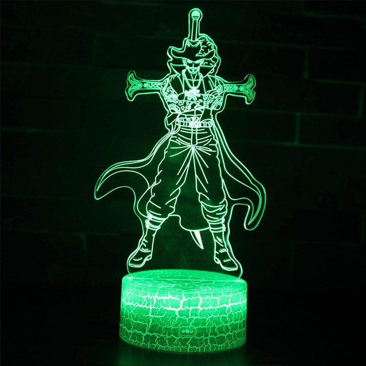 Lampe 3D Dracule Mihawk