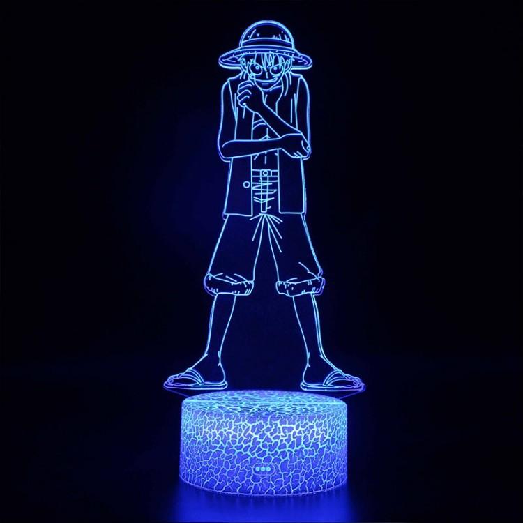 Lampe 3D Luffy