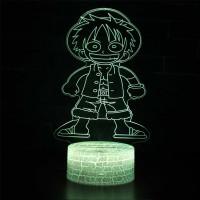 Lampe 3D Mini Luffy