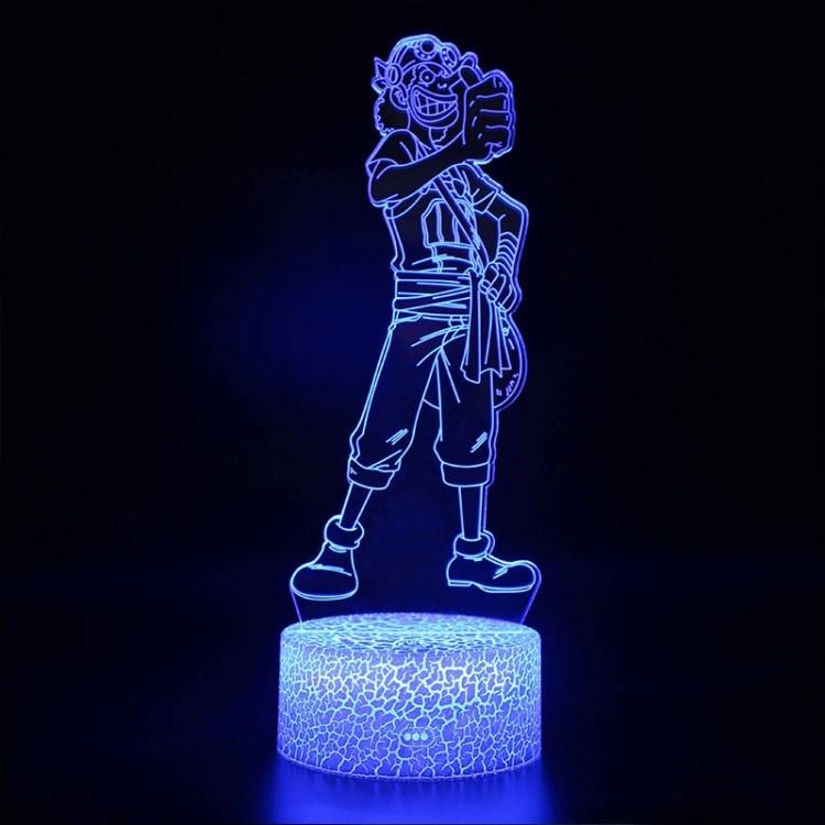 Lampe 3D Usopp
