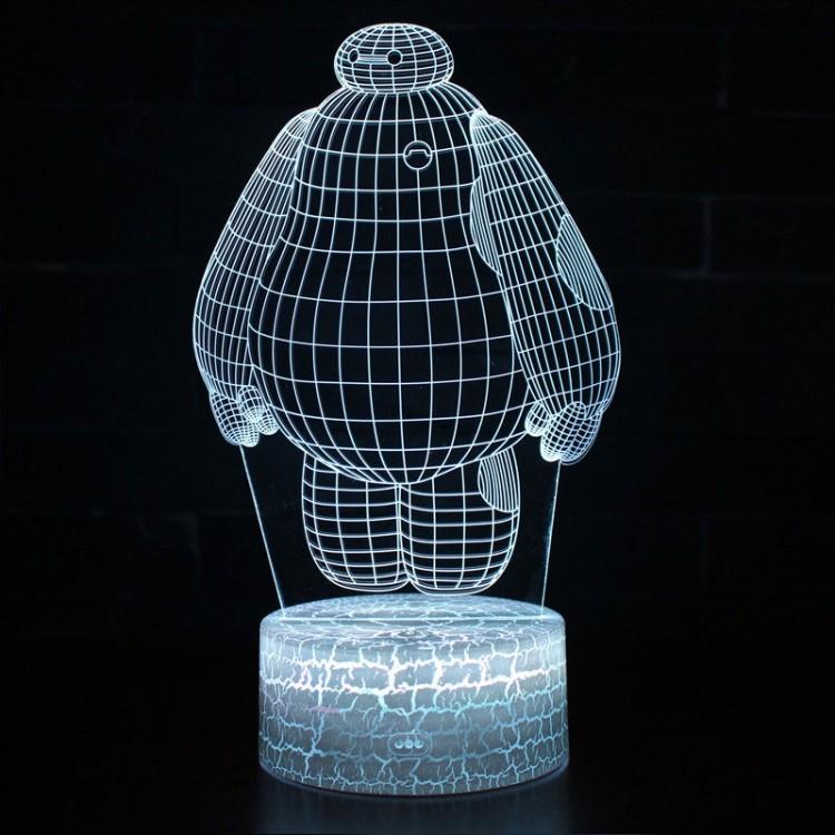 Lampe 3D Baymax