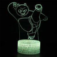 Lampe 3D Kung Fu Panda Po Ping