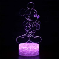Lampe 3D Mickey Mouse