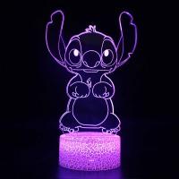 Lampe 3D Stitch