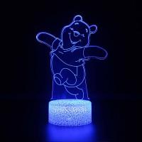 Lampe 3D Winnie l'Ourson