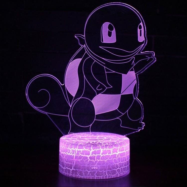 Lampe 3D Pokémon Carapuce