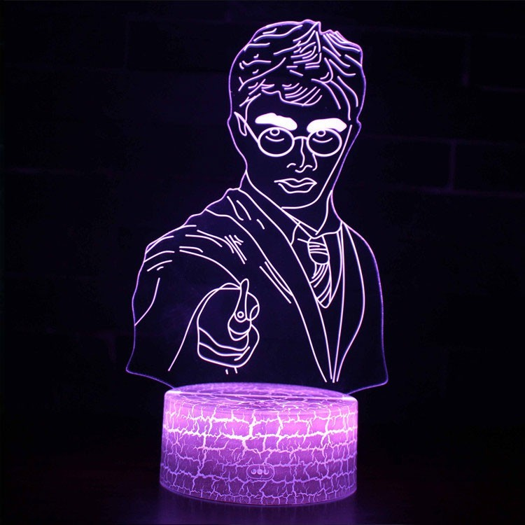 Lampe 3D Harry Potter