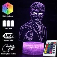 Lampe 3D Harry Potter caractéristiques