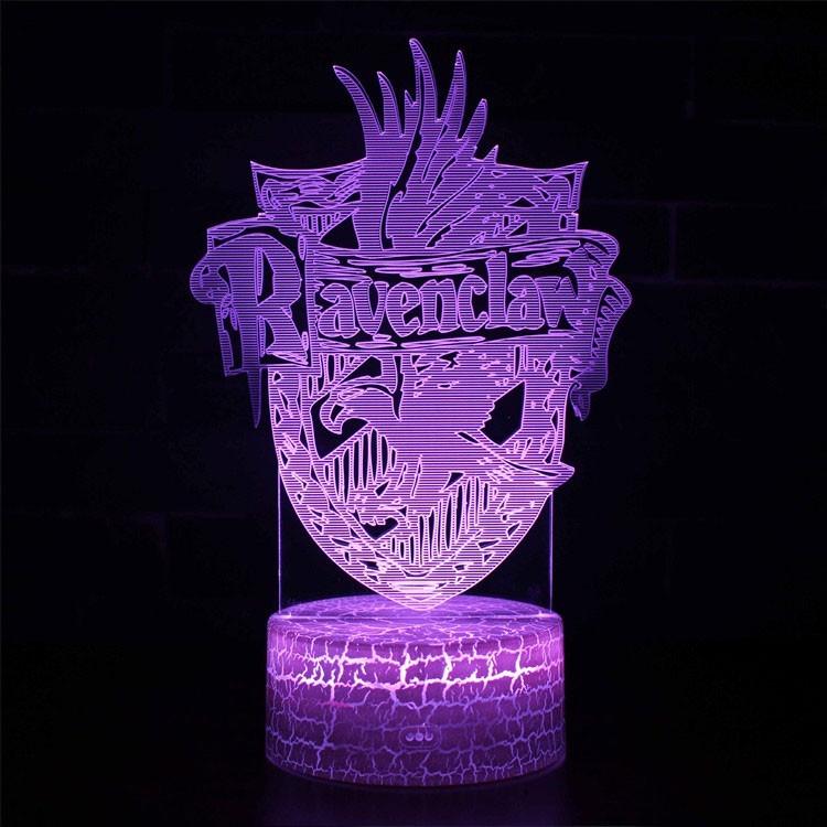 Lampe 3D blason Serdaigle