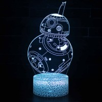 Lampe 3D BB-8