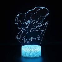 Lampe 3D Pokémon Darkrai