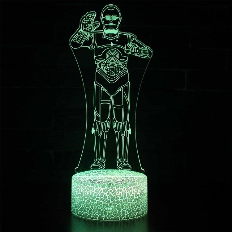 Lampe 3D C-3PO