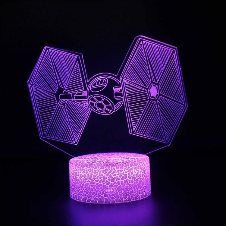 Lampe 3D Chasseur TIE
