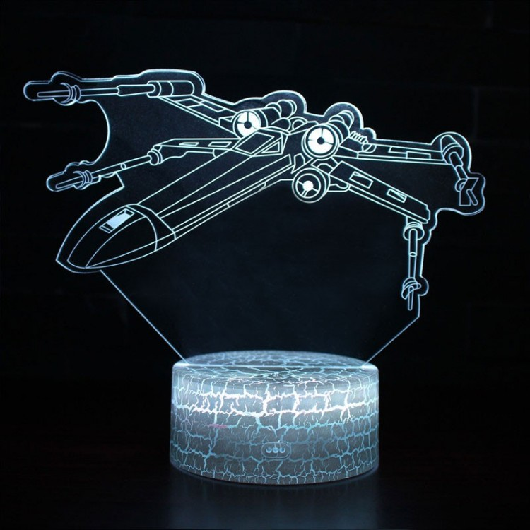 Lampe 3D Chasseur X-Wing
