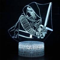 Lampe 3D Kylo Ren
