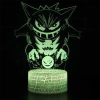 Lampe 3D Pokémon Ectoplasma Spectrum Fantominus