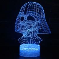 Lampe 3D Masque de Dark Vador