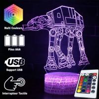 Lampe 3D TB-TT caractéristiques