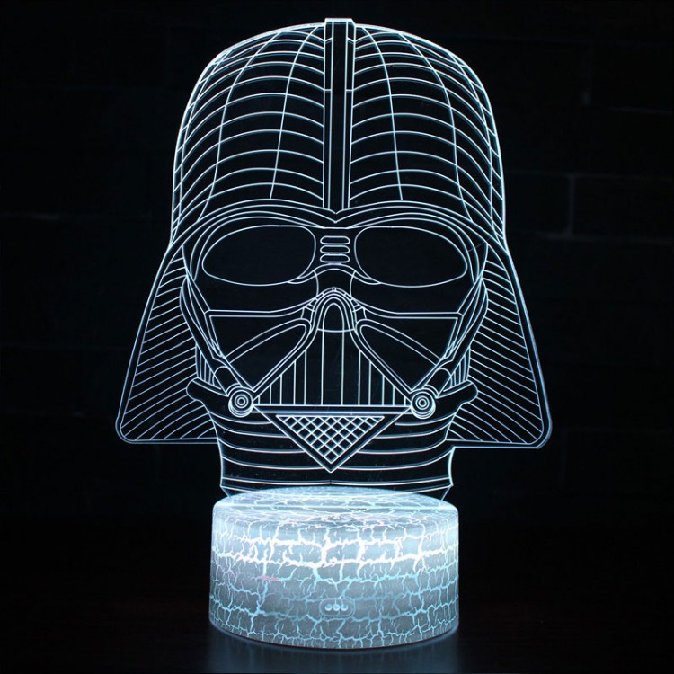 Lampe 3D casque Dark Vador