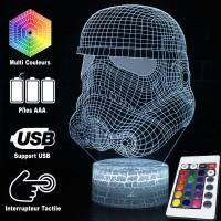 Lampe 3D Storm Trooper caractéristiques
