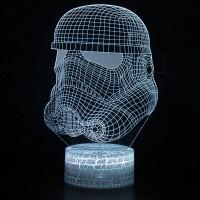 Lampe 3D Storm Trooper
