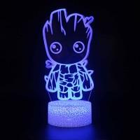 Lampe 3D Bébé Groot