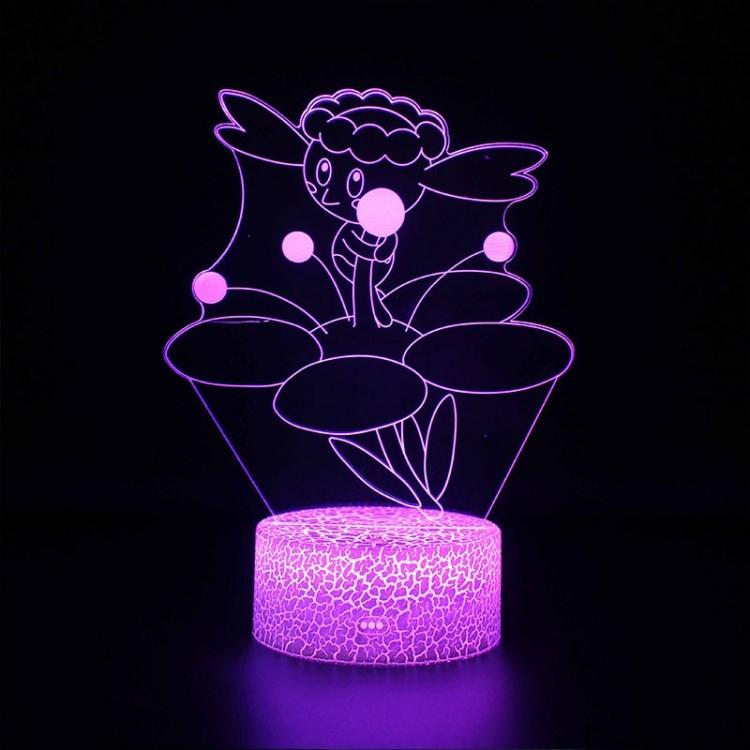 Lampe 3D Pokémon Flabébé