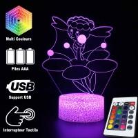 Lampe 3D Pokémon Flabébé caractéristiques