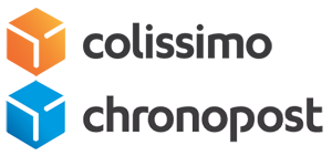 Logo transporteurs Colissimo et Chronopost
